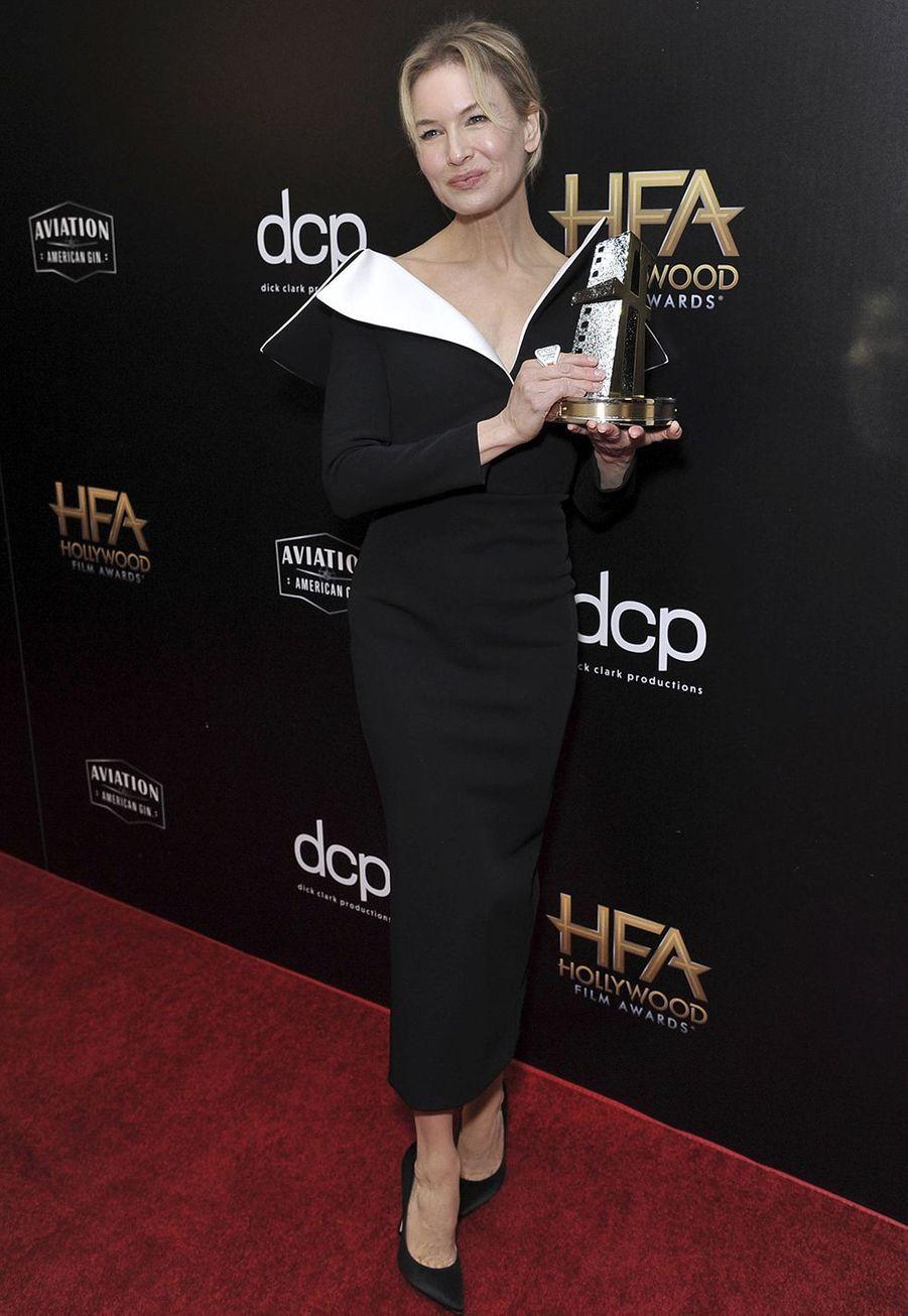 Renee Zellwegerlors des 23èmeHollywood Film Awards à Beverly Hills, le dimanche 3 novembre 2019.