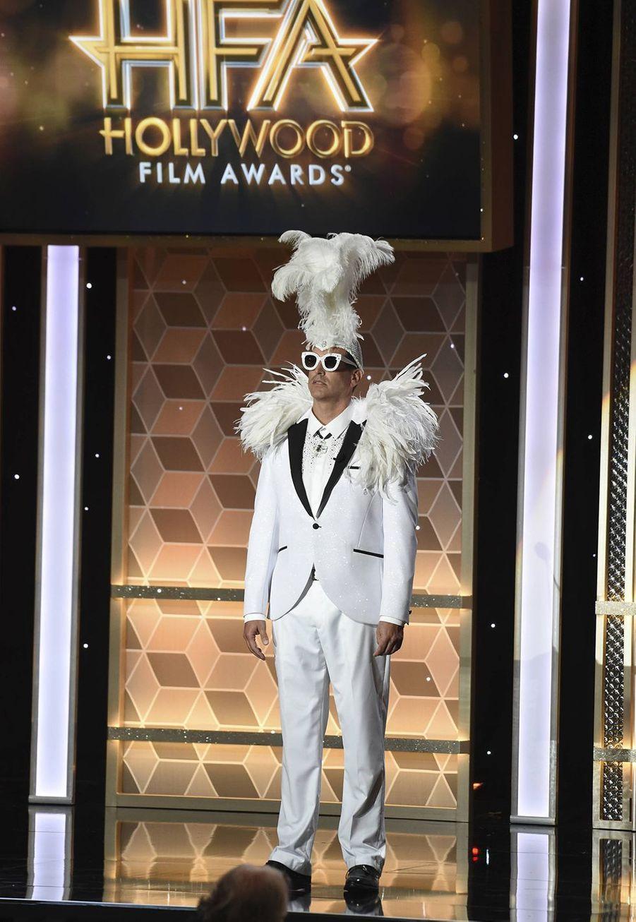 Rob Rigglelors des 23èmeHollywood Film Awards à Beverly Hills, le dimanche 3 novembre 2019.