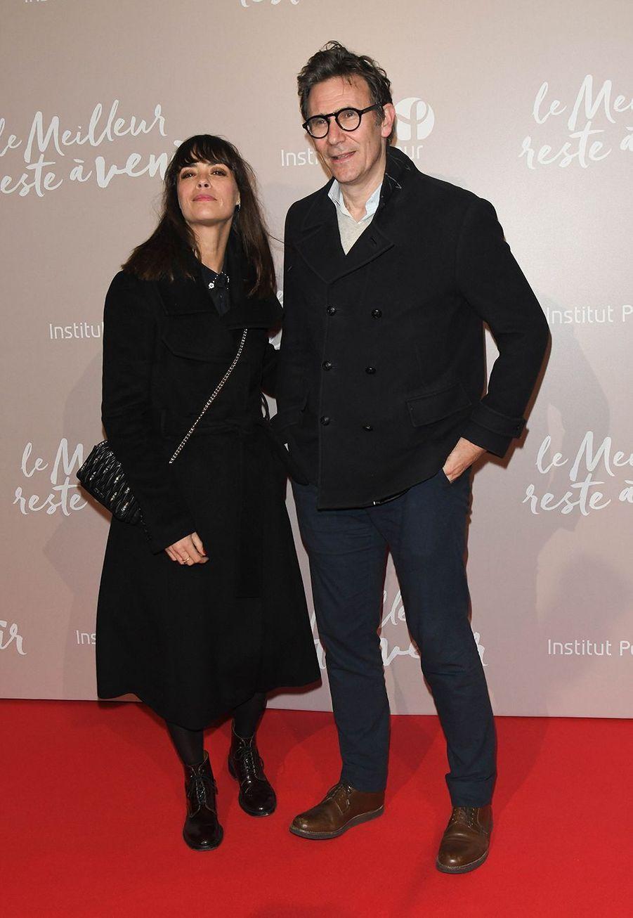 Bérénice Béjo et Michel Hazanaviciusà l'avant-première du film «Le Meilleur reste à venir» au Grand Rex à Paris le 2 décembre 2019
