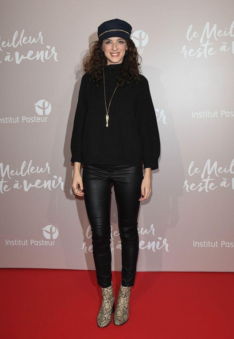 Camille Lavabreà l'avant-première du film «Le Meilleur reste à venir» au Grand Rex à Paris le 2 décembre 2019