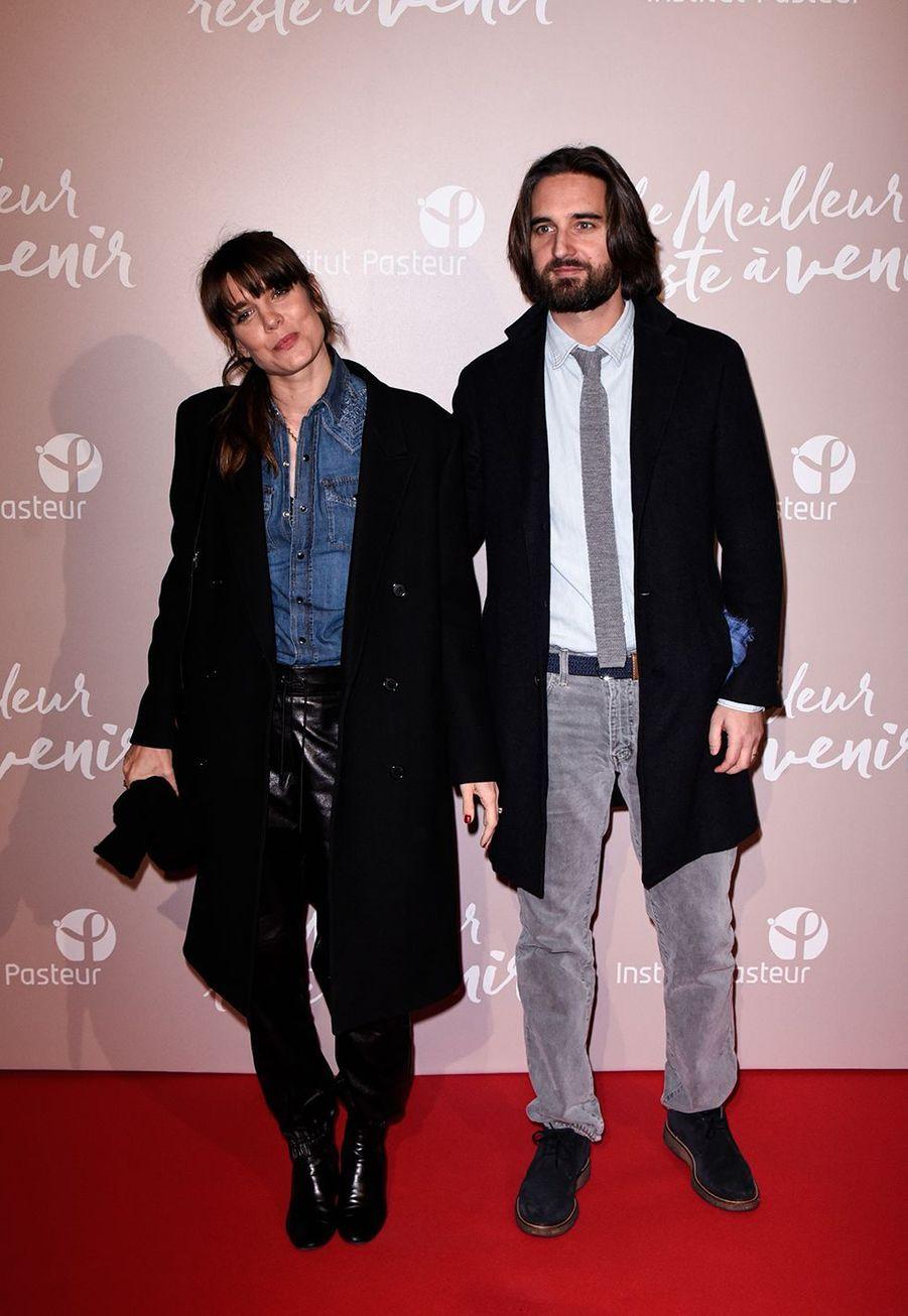 Charlotte Casiraghi et Dimitri Rassam à l'avant-première du film «Le Meilleur reste à venir» au Grand Rex à Paris le 2 décembre 2019
