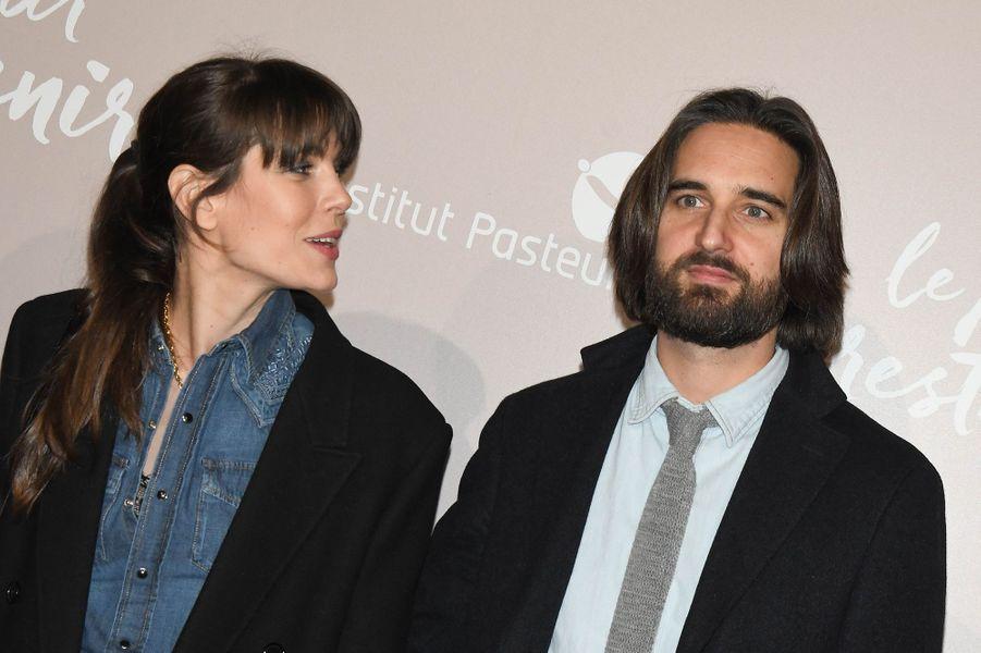 Charlotte Casiraghi et Dimitri Rassamà l'avant-première du film «Le Meilleur reste à venir» au Grand Rex à Paris le 2 décembre 2019