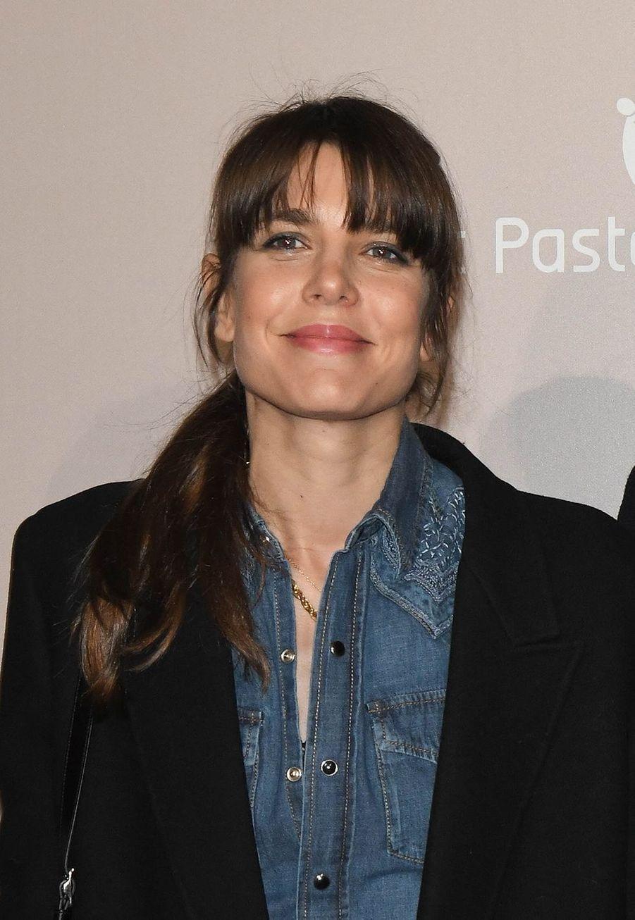 Charlotte Casiraghià l'avant-première du film «Le Meilleur reste à venir» au Grand Rex à Paris le 2 décembre 2019