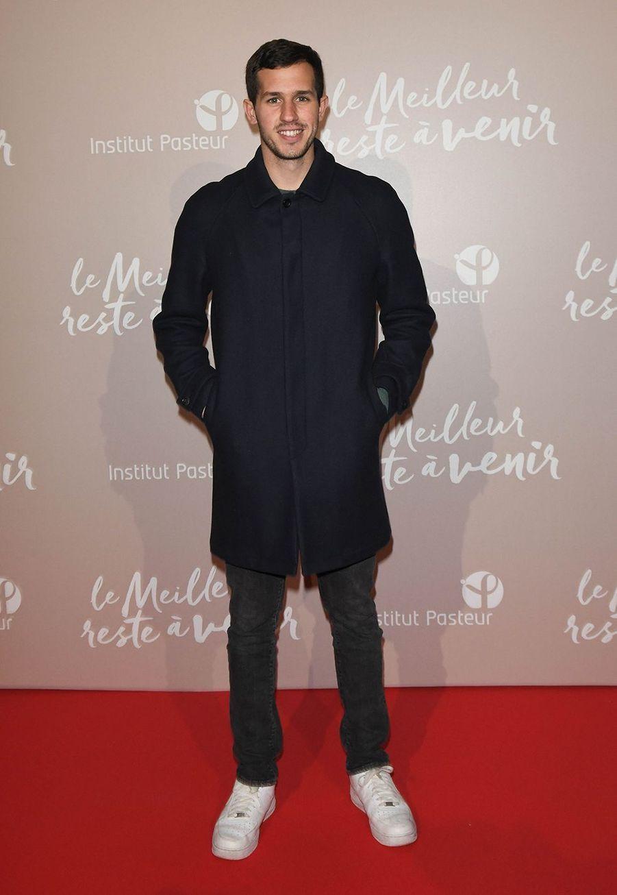 Victor Belmondoà l'avant-première du film «Le Meilleur reste à venir» au Grand Rex à Paris le 2 décembre 2019