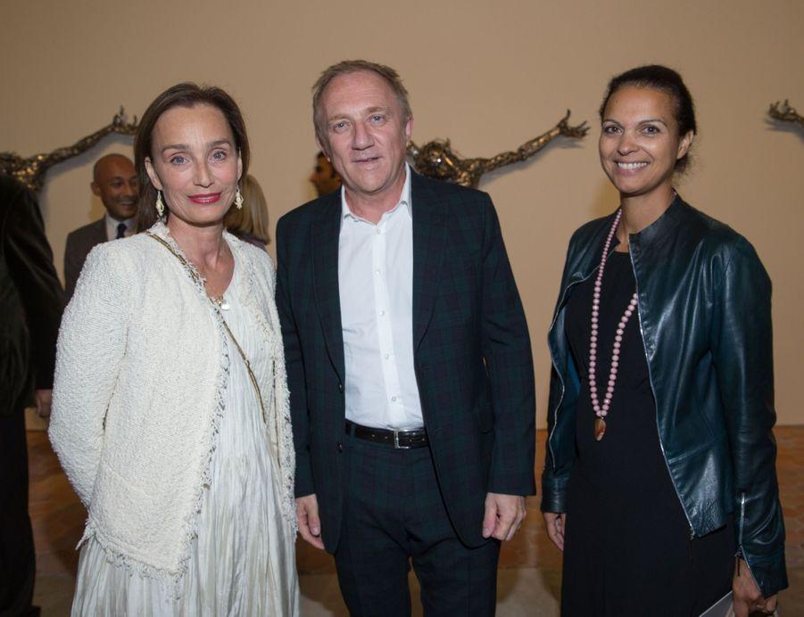 Kristin Scott Thomas, François-Henri Pinault, Isabelle Giordano