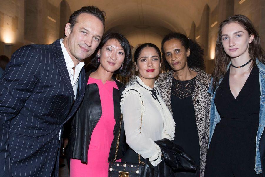 Vincent Perez, Fleur Pellerin, Salma Hayek, Karine Silla, Mathilde Pinault