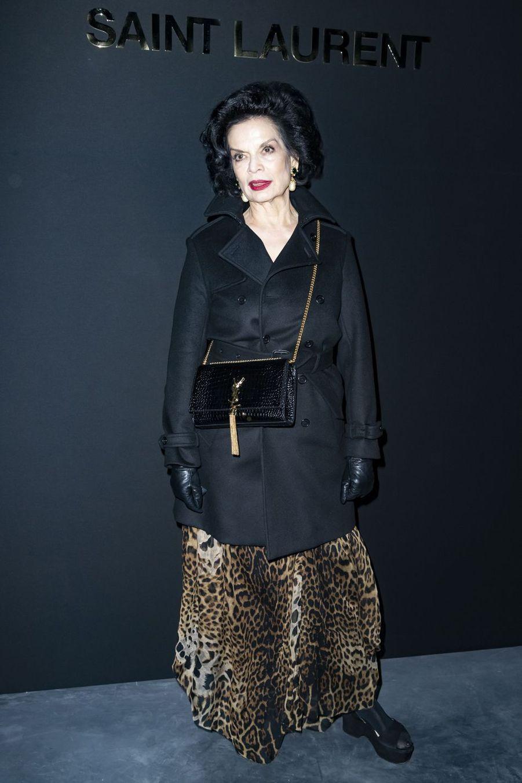 Bianca Jaggerau défilé Saint Laurent lors de la Fashion Week de Paris le 26 février 2019