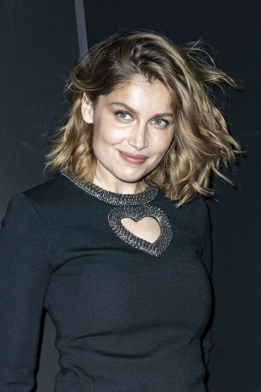 Laetitia Casta au défilé Saint Laurent lors de la Fashion Week de Paris le 26 février 2019