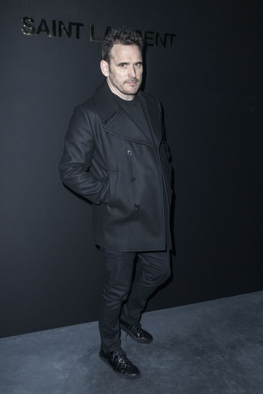 Matt Dillon au défilé Saint Laurent lors de la Fashion Week de Paris le 26 février 2019