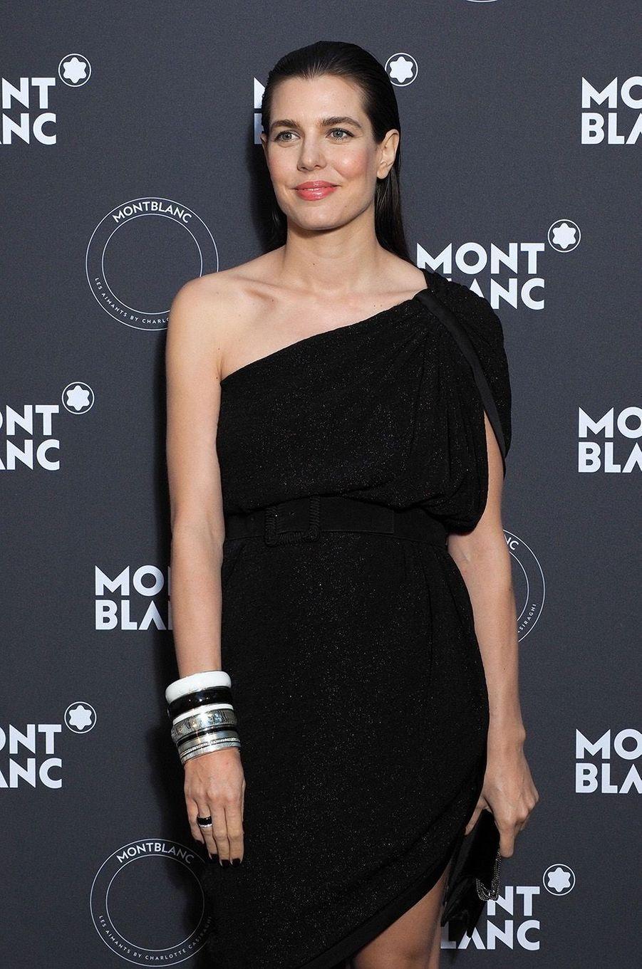 Charlotte Casiraghi à la soirée Montblanc à Cannes, le 16 mai 2018.