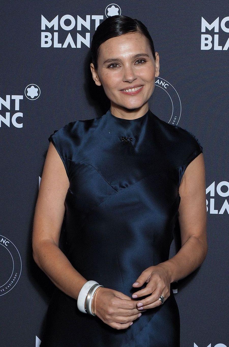 Virginie Ledoyen à la soirée Montblanc à Cannes, le 16 mai 2018.