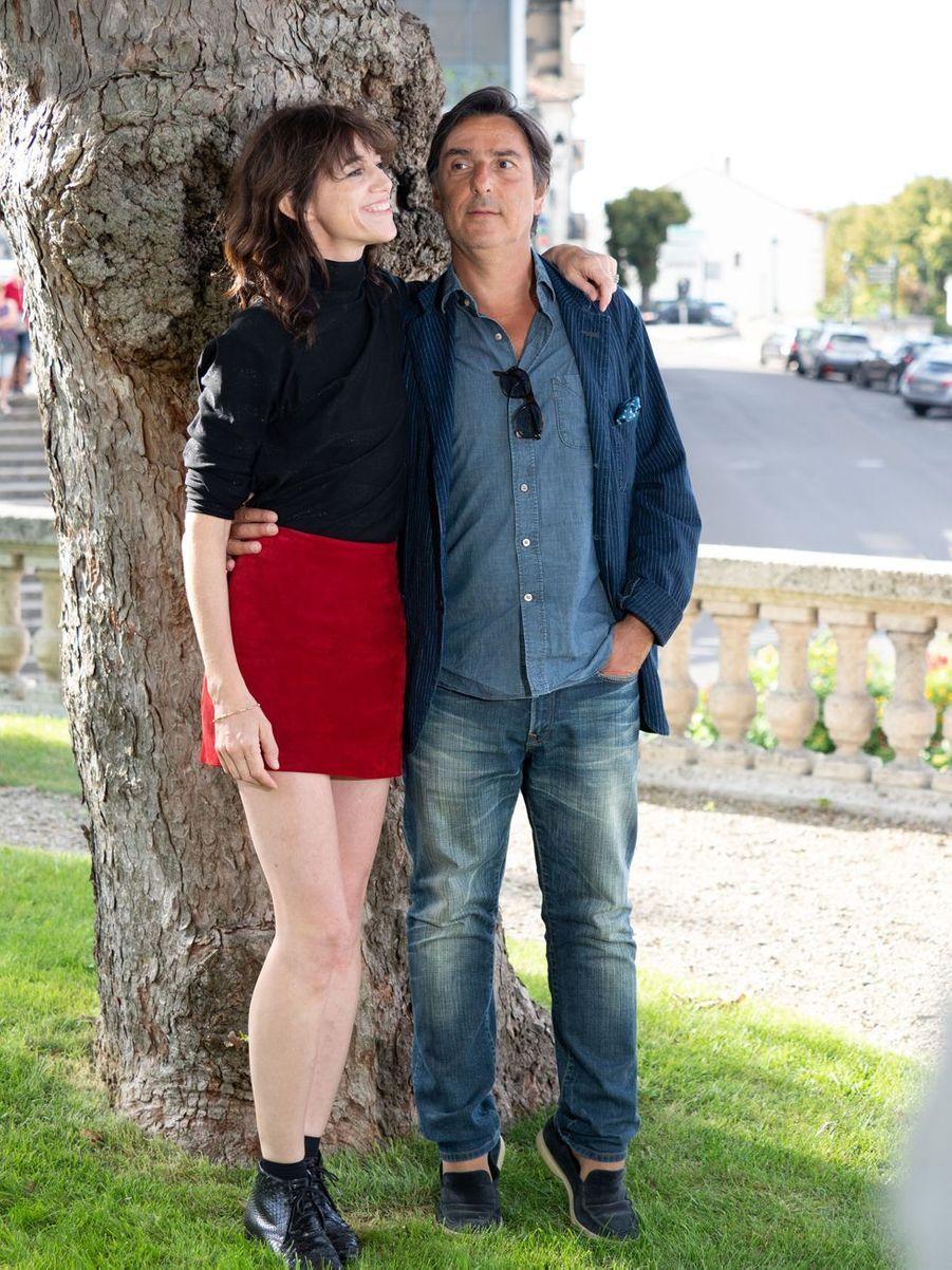 Charlotte Gainsbourg et Yvan Attal au Festival du film francophone d'Angoulême le 20 août 2019
