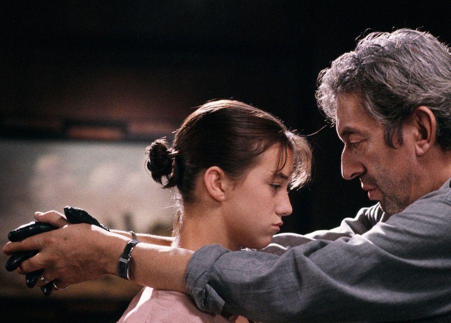 Charlotte et Serge Gainsbourg.