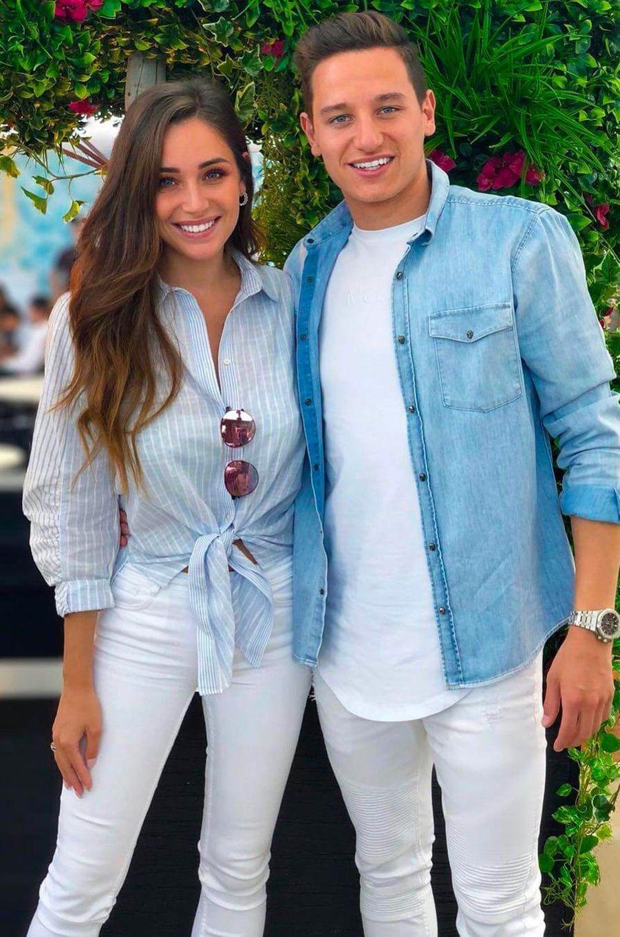 Charlotte Pirroni et Florian Thauvin