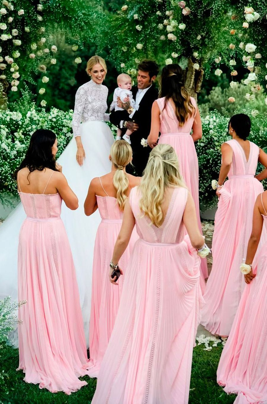 Le mariage de Chiara Ferragni et Federico Leonardo Lucia, aka Fedez, samedi 1er septembre