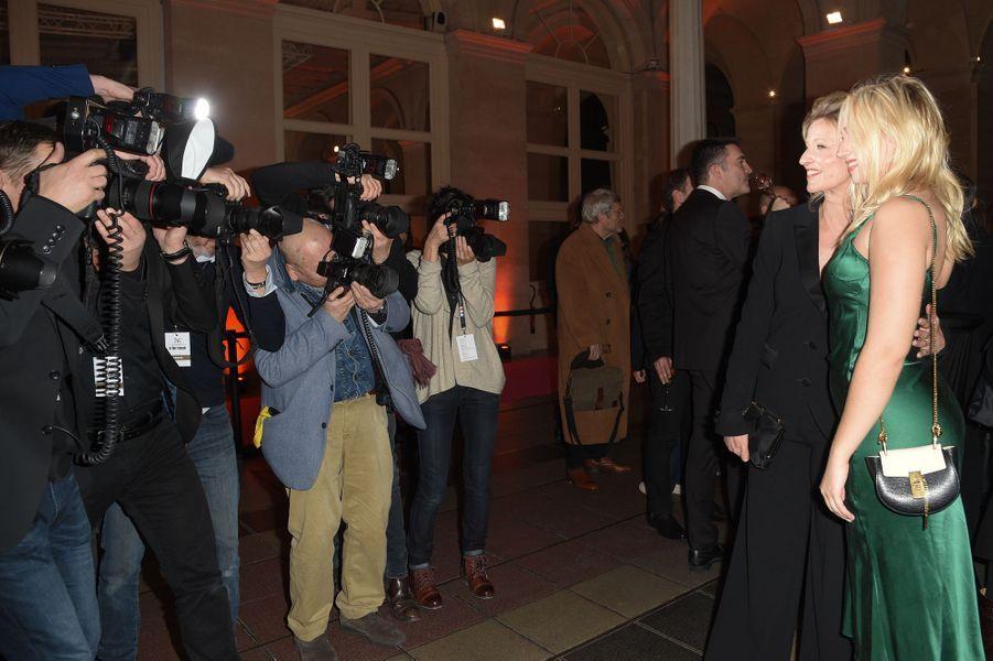 Alexandra Lamy et Chloé Jouannet à la26ème édition des Trophées du Film Français 2018 au Palais Brongniart à Paris le 5 février 2019