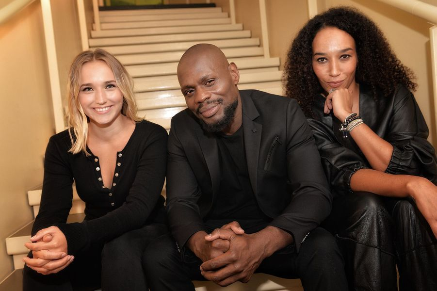 Chloé Jouannet, Kery James et Leïla Sylors de la promotion de«Banlieusards» à Paris le 13 octobre 2019.