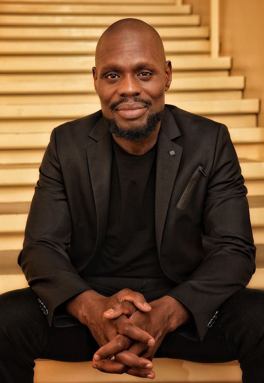 Kery James lors de la promotion de «Banlieusards» à Paris le 13 octobre 2019.