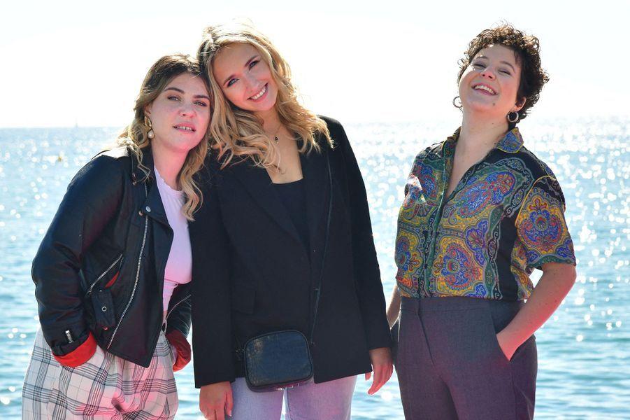 Marie-Sophie Larrouy, Chloé Jouannet, Salomé Diénis-Meulien à Canneséries
