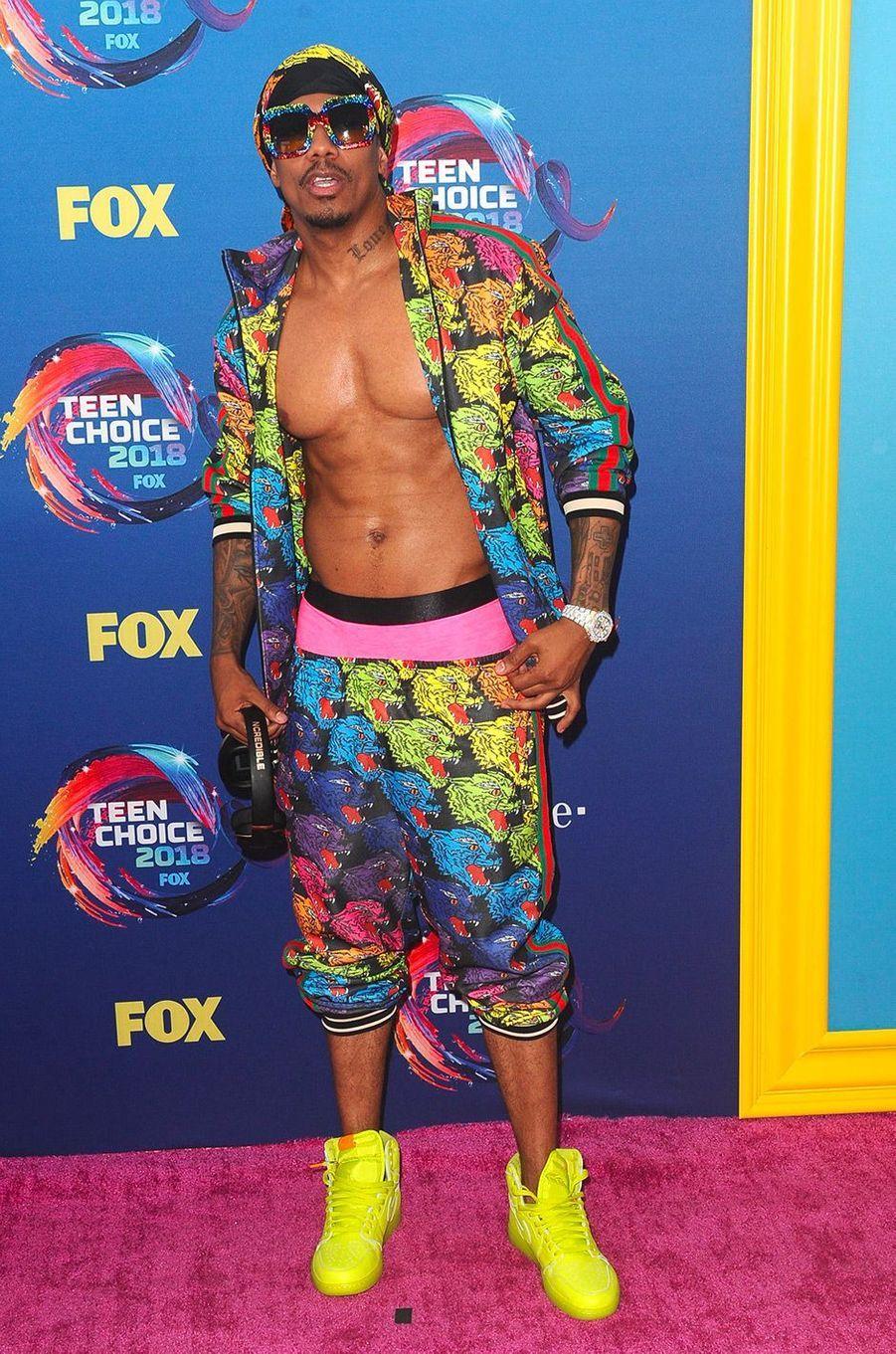 Nick Cannon aux Teen Choice Awards, à Los Angeles, dimanche 12 août