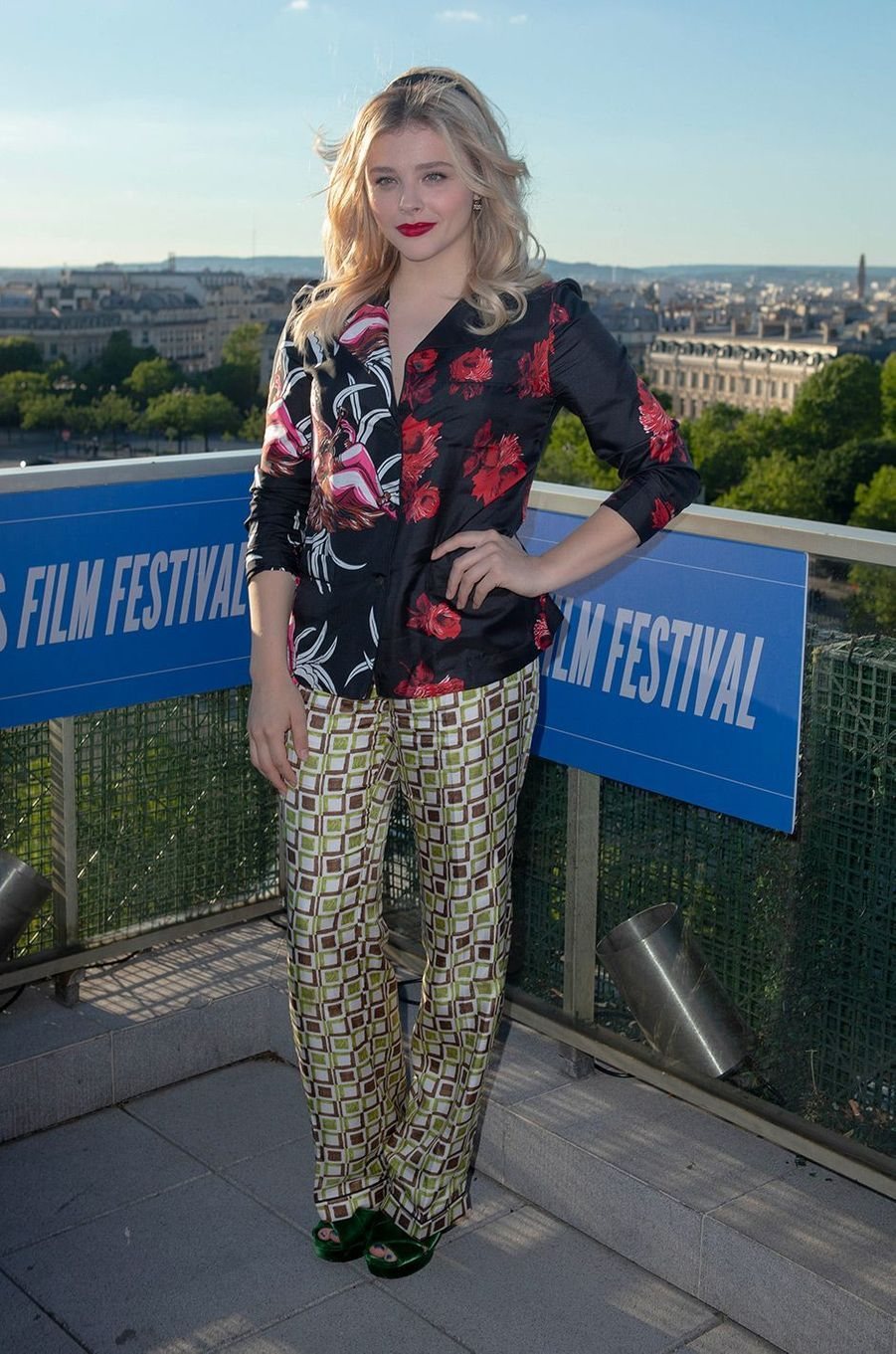 Chloë Moretz à la première de «Come as you are» à Paris, lundi 18 juin