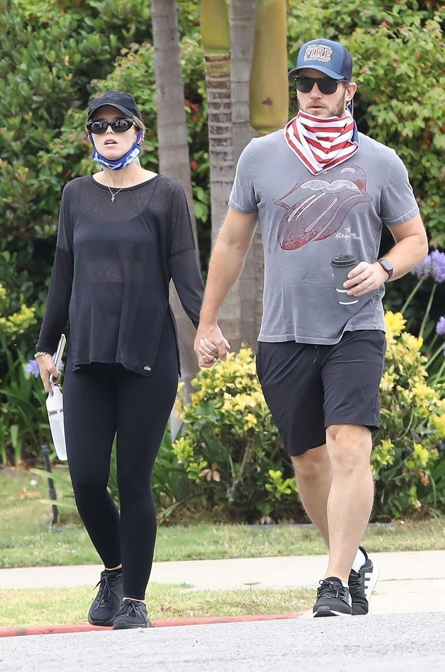 Katherine Schwarzenegger et Chris Pratt à Los Angeles le 20 juin 2020