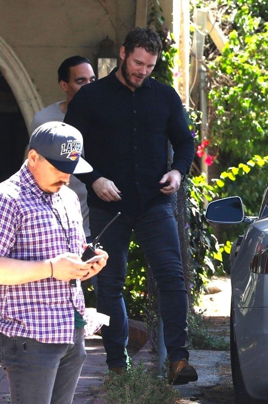 Chris Pratt le 5 août 2018