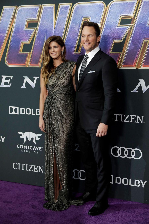 KatherineSchwarzenegger et Chris Pratt à l'avant-première d'«Avengers : Endgame» à Los Angeles le 22 avril 2019