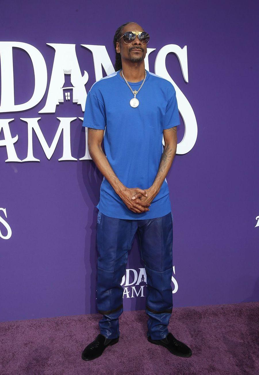 Snoop Dogg lors de la première de «La Famille Addams» le 6 octobre 2019 à Los Angeles.