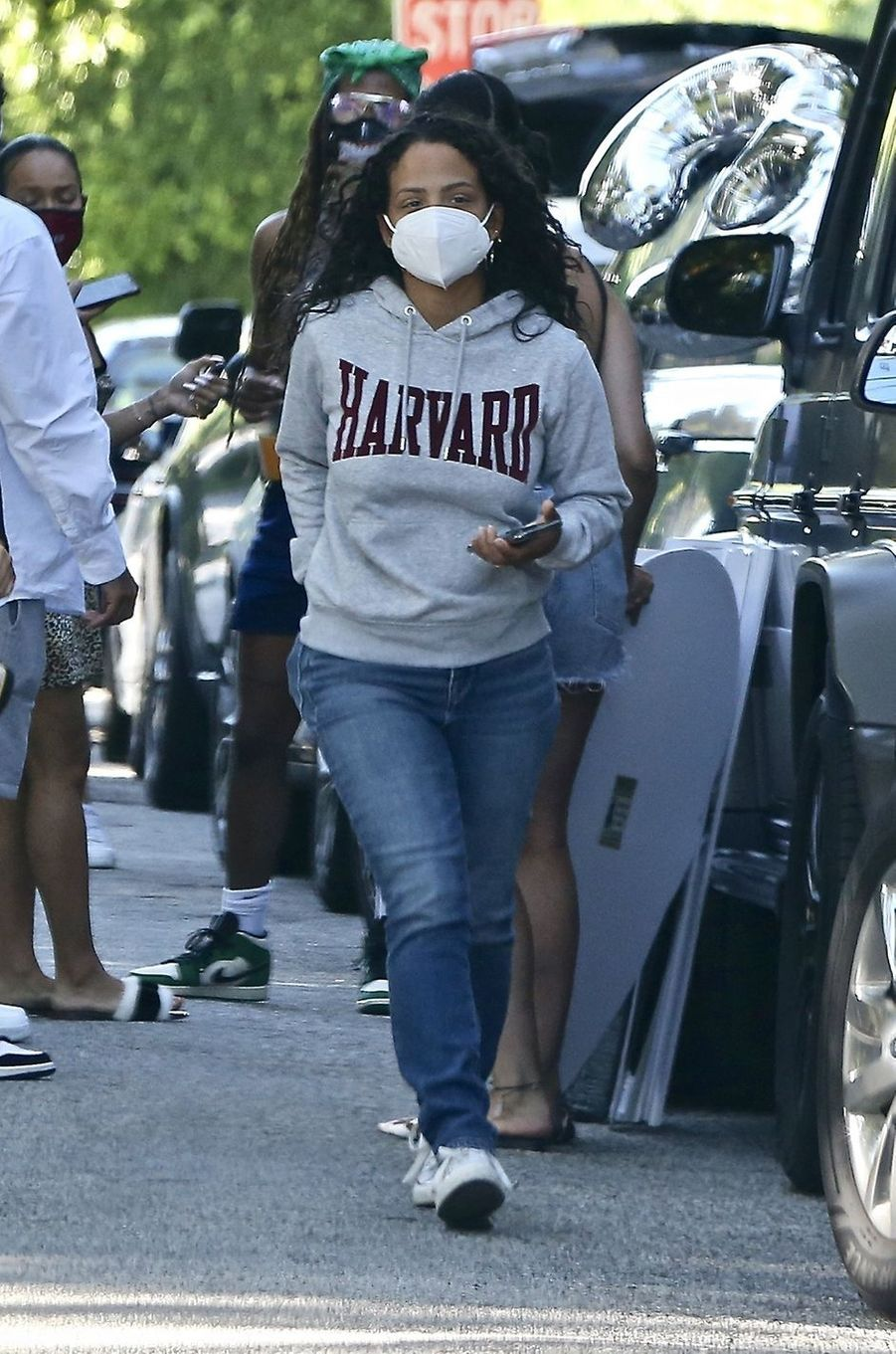 Christina Milian à Los Angeles le 15 mai 2020