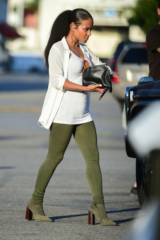 Christina Milian à Los Angeles le 31 juillet 2019