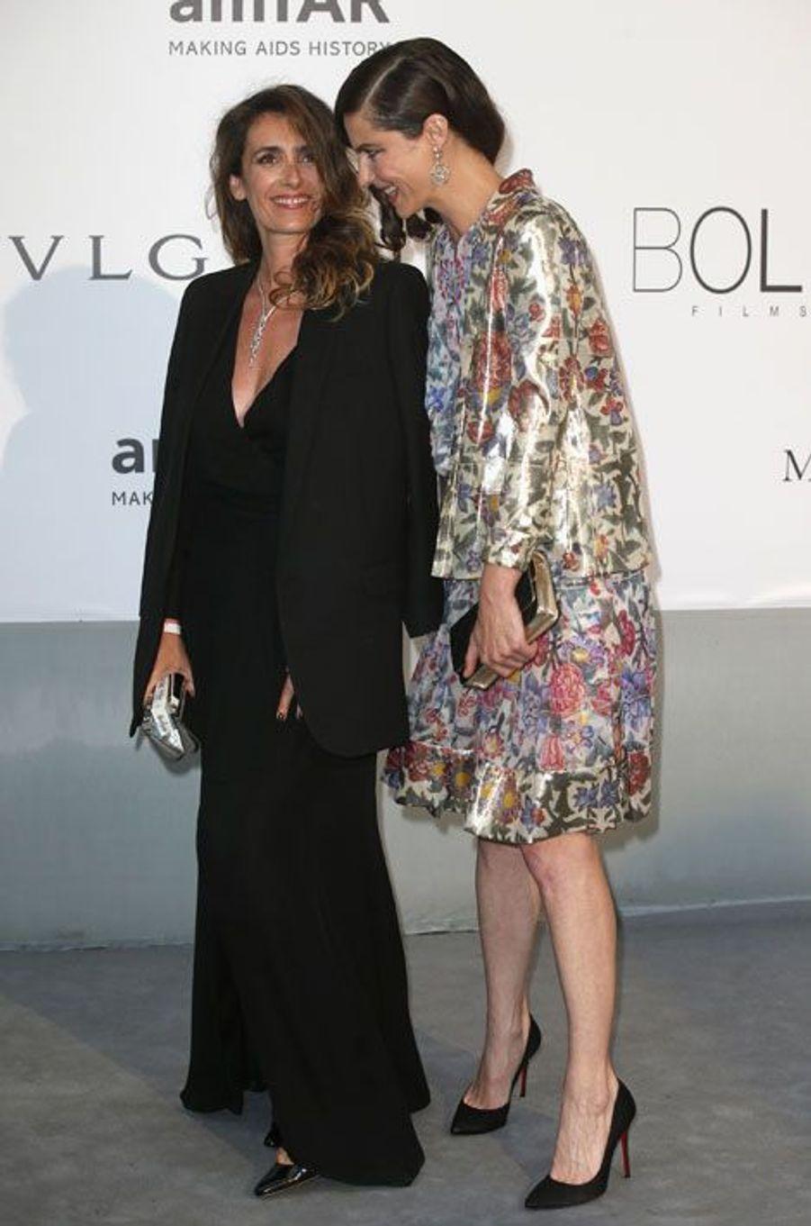 Mademoiselle Agnès et Anna Mouglalis