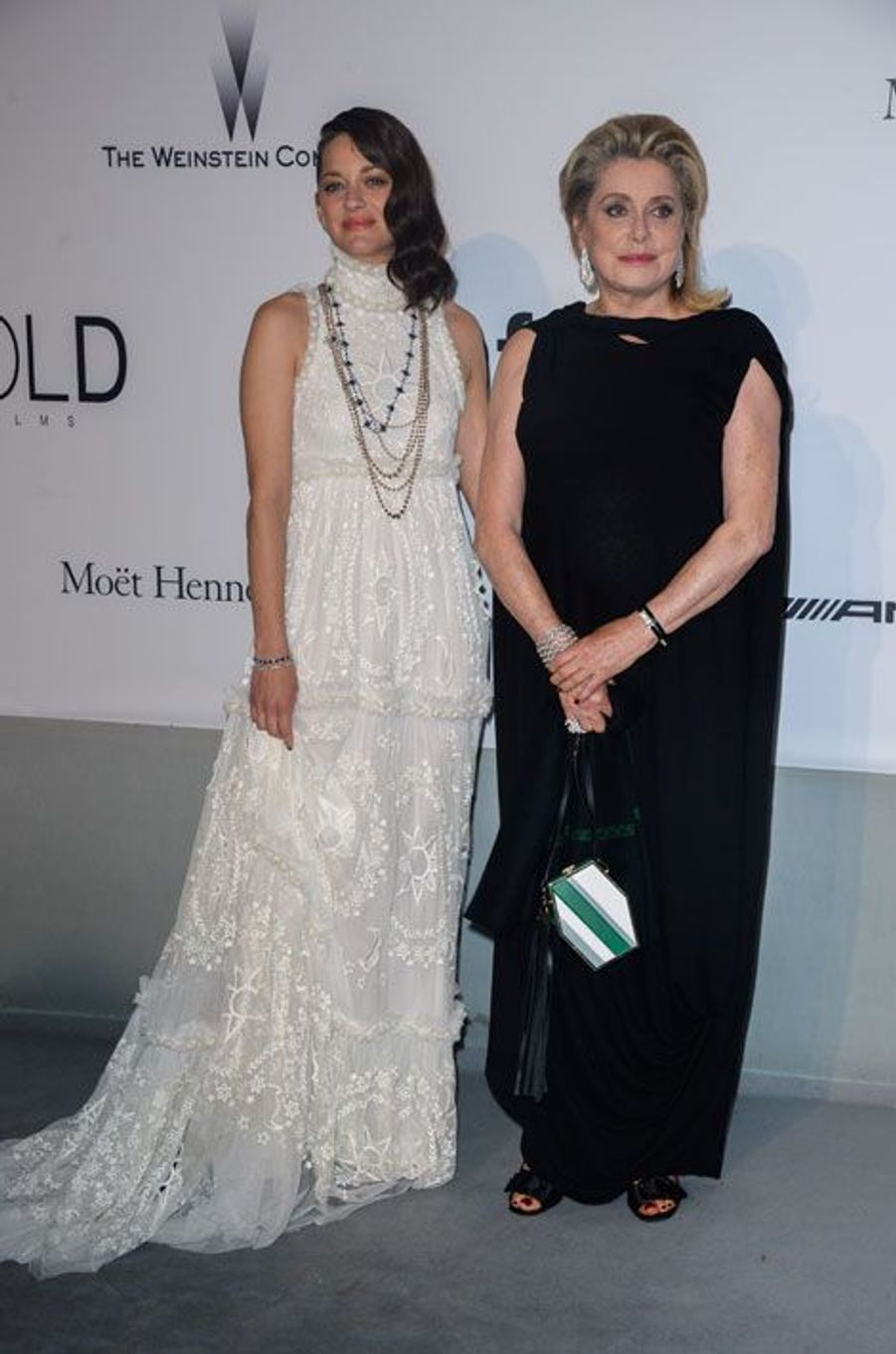 Marion Cotillard et Catherine Deneuve