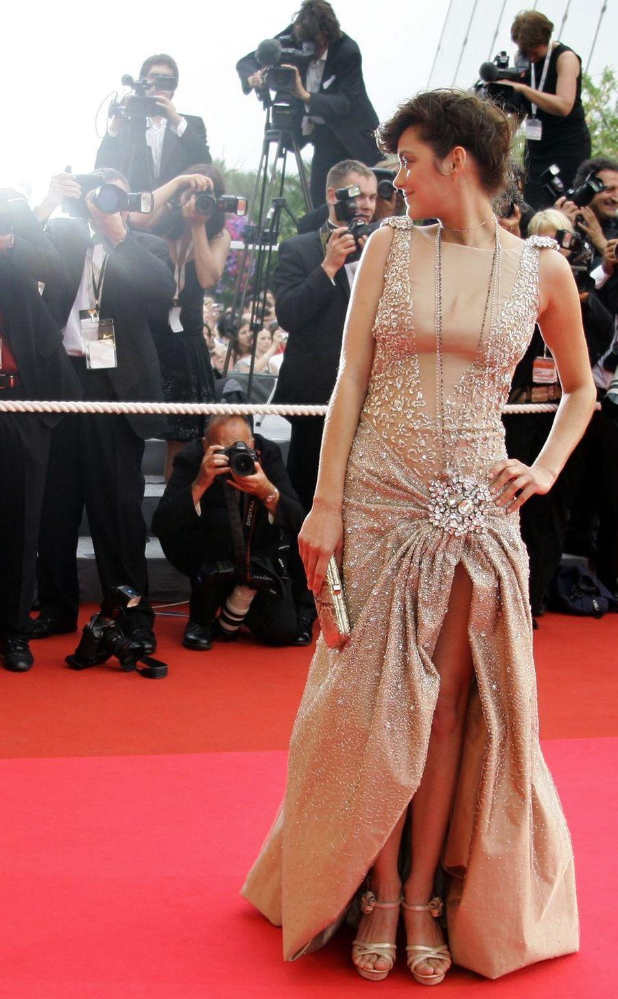 Marion Cotillard au Festival de Cannes en mai 2007