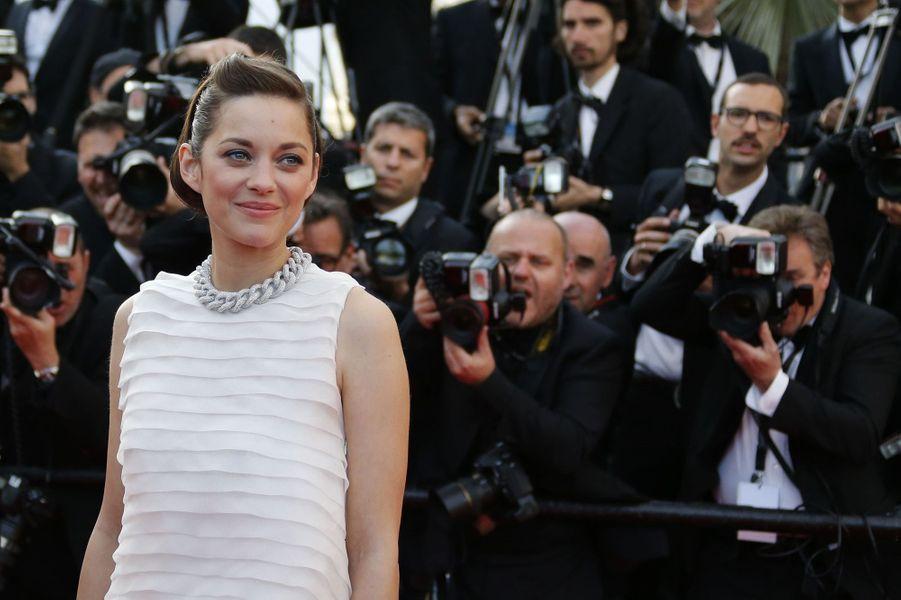 Marion Cotillard au Festival de Cannes en mai 2014
