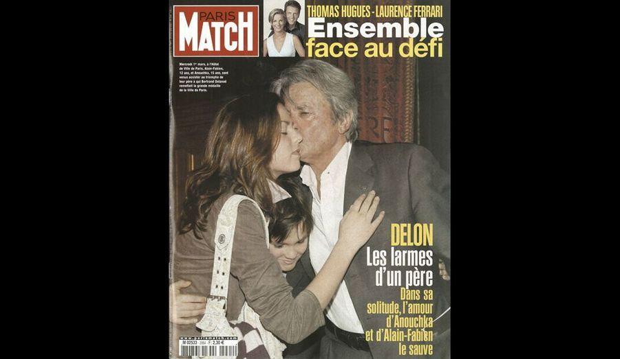 2006. Anouchka et Alain-Fabien sont venus assister au triomphe de leur père à qui Bertrand Delanoë remettait la grande médaille de la Ville de Paris.