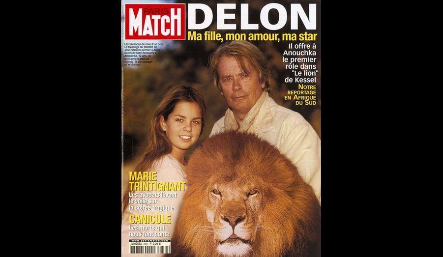 2003. Il offre à Anouchka le premier rôle dans «Le lion» de Kessel.