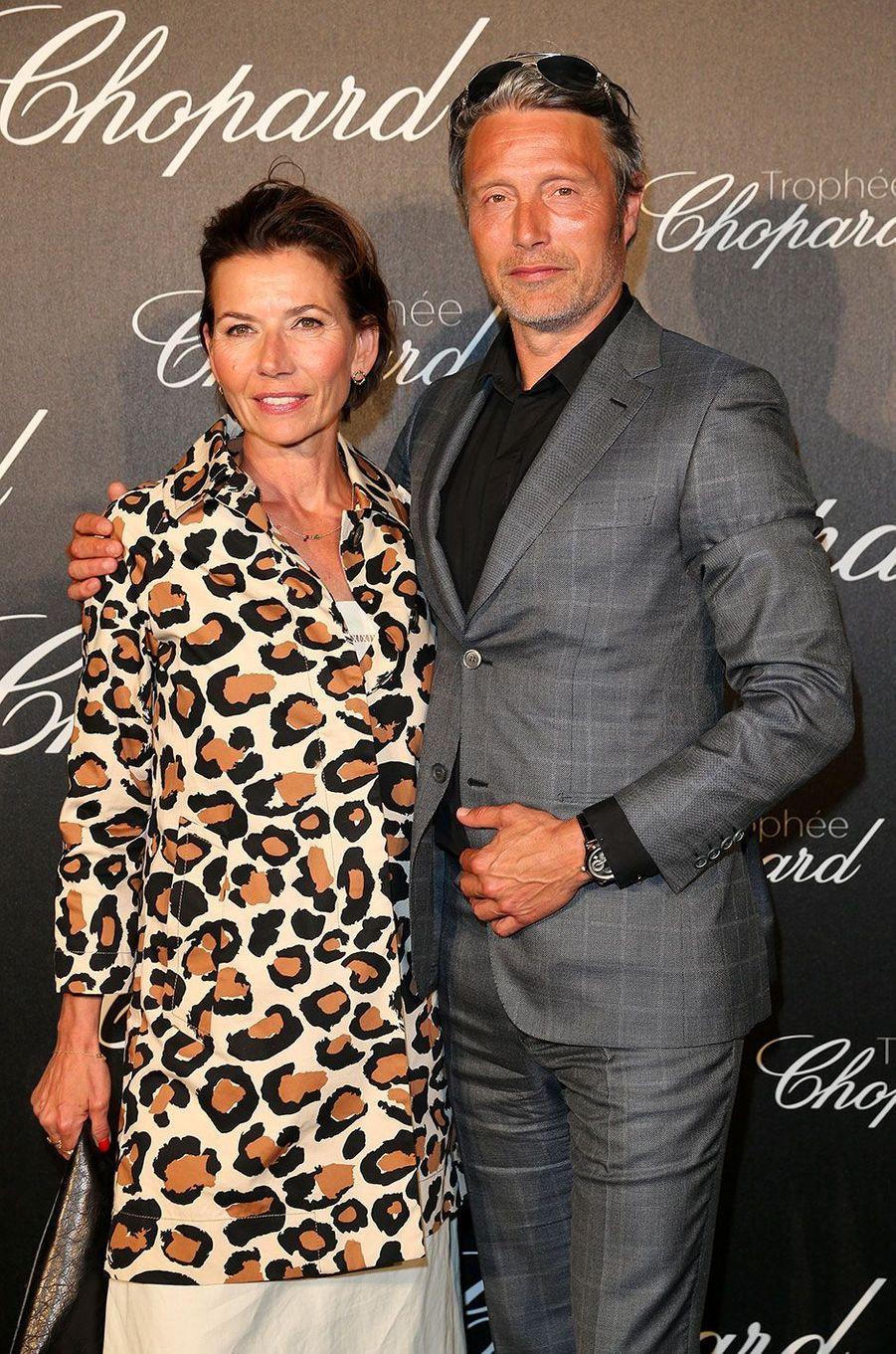Mads Mikkelsen et sa femme