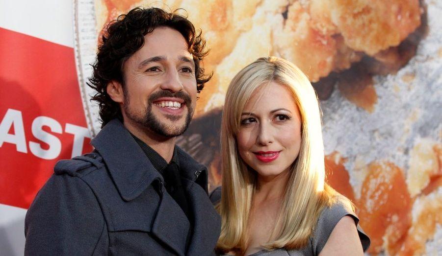 Thomas Ian Nicholas et sa femme Colette