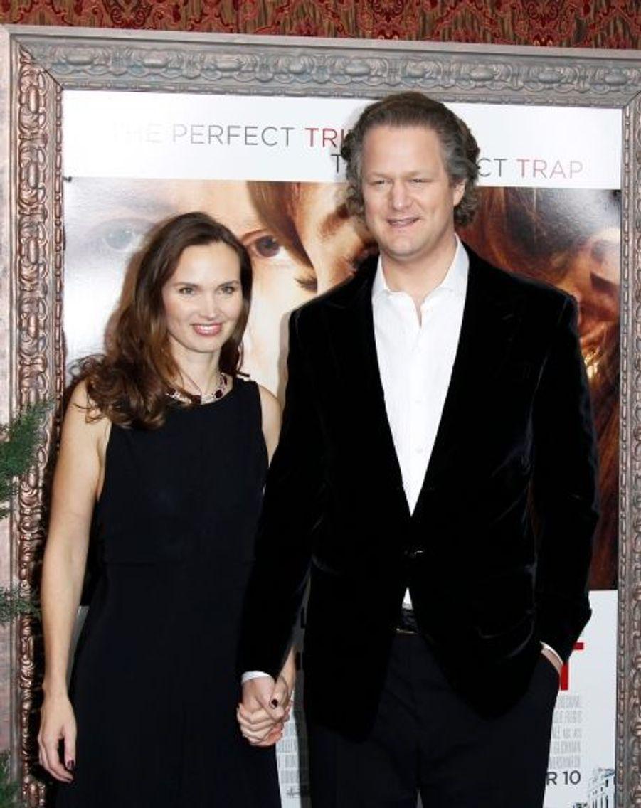 Florian Henckel von Donnersmarck et son épouse