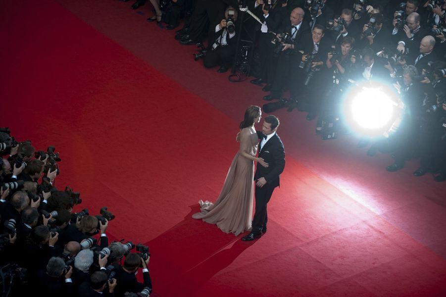 Angelina Jolie et Brad Pitt au festival de Cannes en 2009.