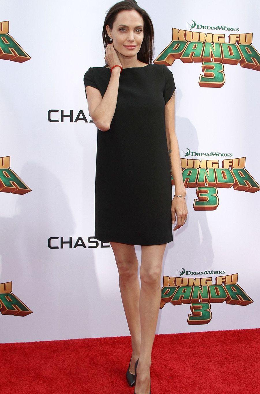 Angelina Jolie à Hollywood, en janvier 2016
