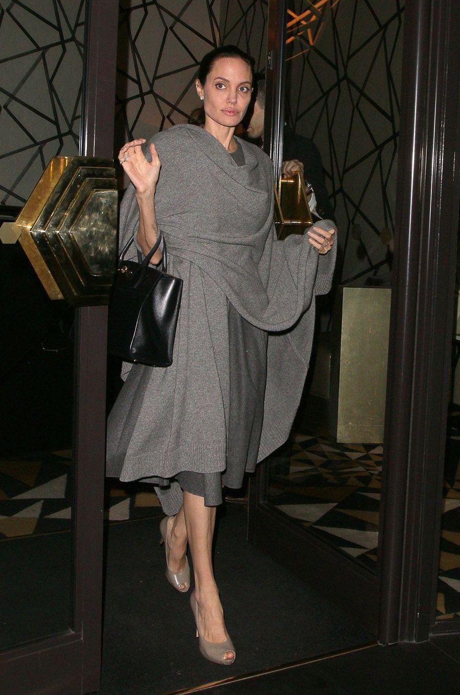 Angelina Jolie à Londres, en avril 2016