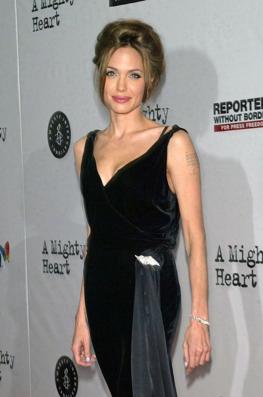 Angelina Jolie à New York, 2007