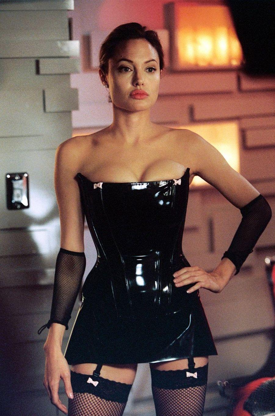 "Angelina Jolie dans ""Mr & Mrs Smith"", en 2005"