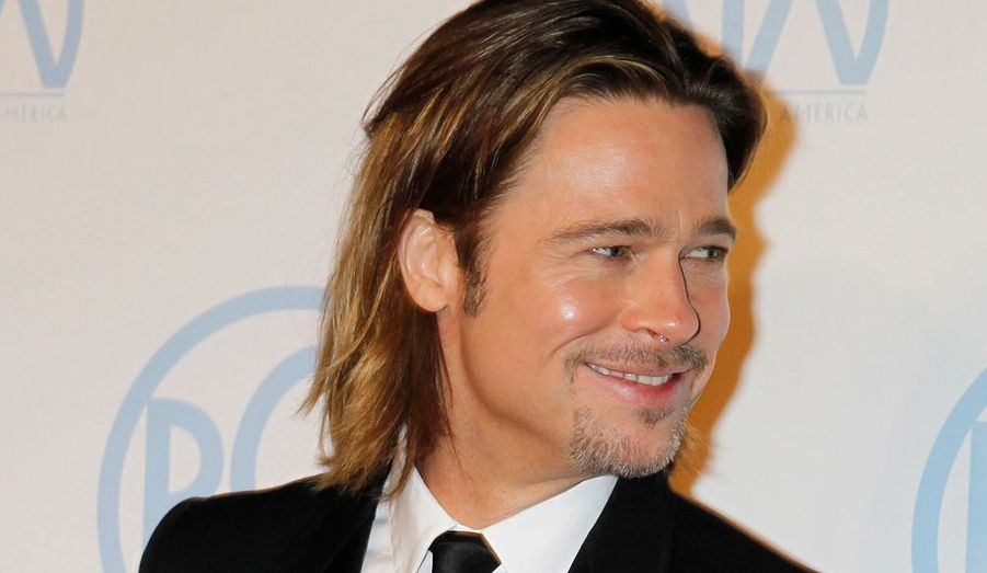 L'acteur a bien sûr accompagné Angelina Jolie pour cette soirée si importante.