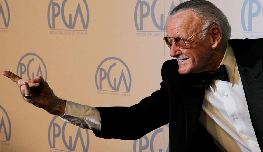 """Le """"père"""" de Spider-Man a obtenu un prix pour l'ensemble de sa carrière."""