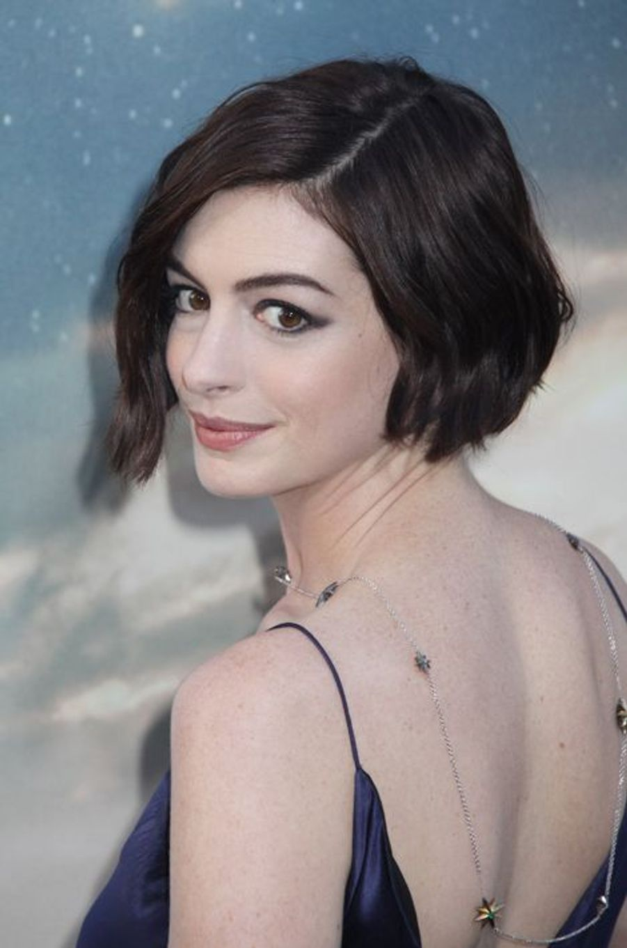 Anne Hathaway à Los Angeles le 26 octobre 2014
