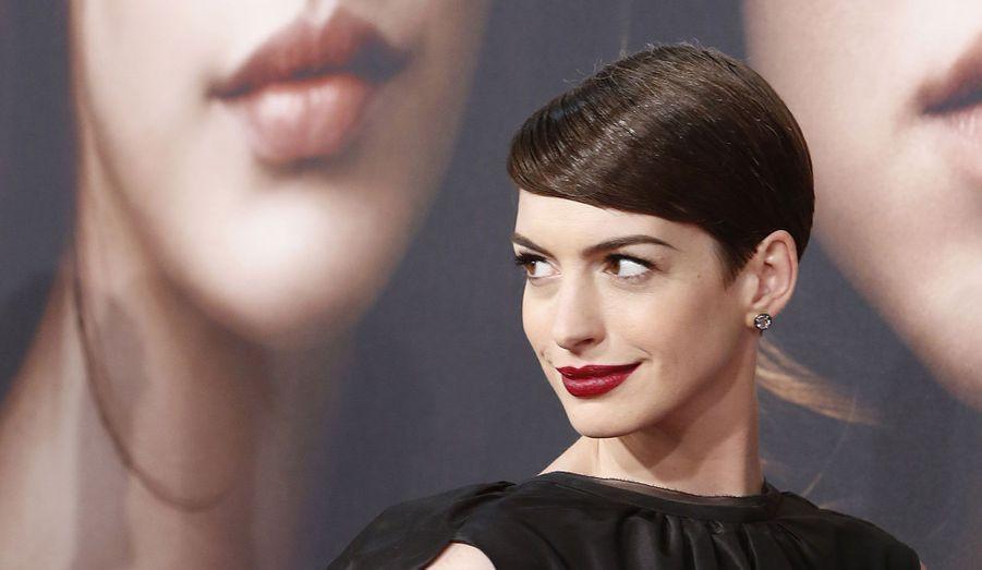 La première new-yorkaise des «Misérables» a eu lieu lundi soir en présence de tous les acteurs du film. Anne Hathaway, qui interprète Fantine et est déjà pressentie pour les Oscars, est apparue plus sexy que jamais aux côtés notamment d'Amanda Seyfried et Hugh Jackman.