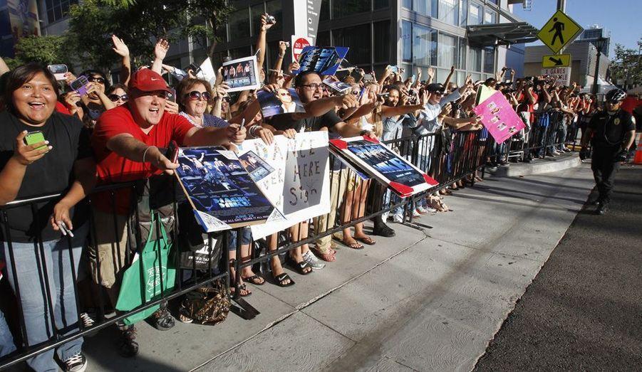 De nombreux fans présents